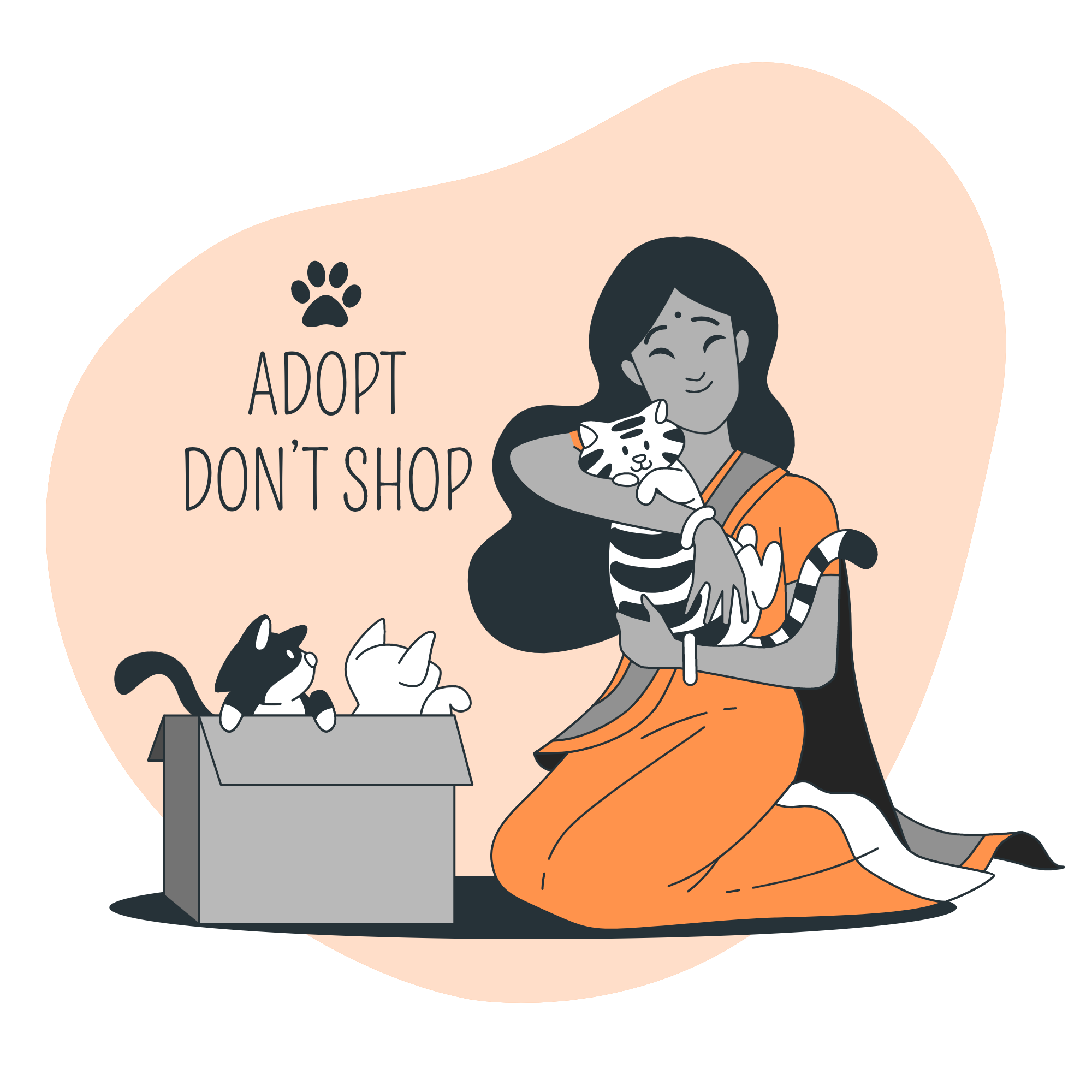 Reapet supports pet adoption and animal welfare